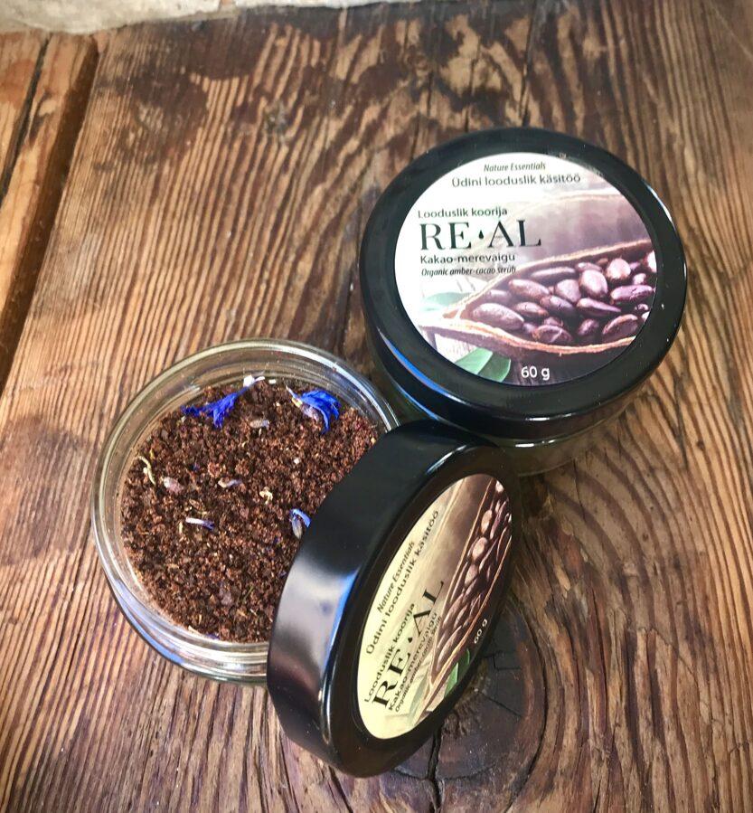 Looduslik koorija (kakao-merevaigu)