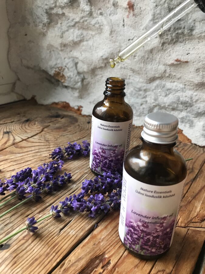 Lavender infused oil, 50ml