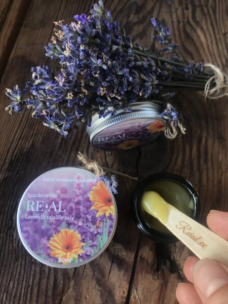 Everyday use - calendula and lavender oil salve (60ml)